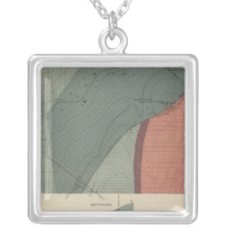 Lenado Mining District Sheet Silver Plated Necklace
