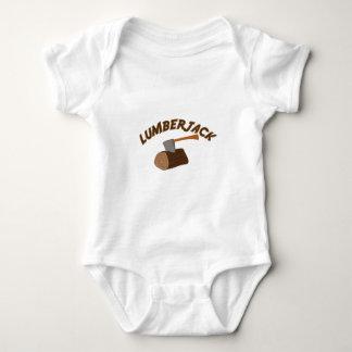 Leñador Body Para Bebé