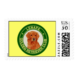 Lenape Golden Retriever Club Postage Stamp