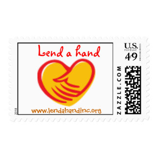 Lend a hand stamp