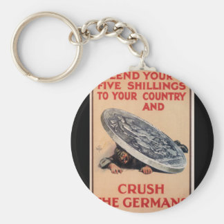 Lend your five shillings to your_Propaganda Poster Keychain