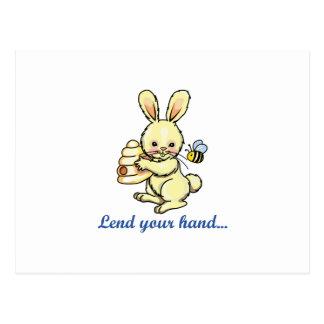 LEND YOUR HAND POSTCARD
