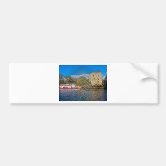 Lendal tower and bridge York Bumper Sticker