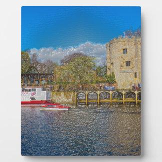 Lendal tower and bridge York Display Plaques