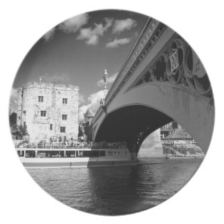 Lendal tower and bridge York Party Plate