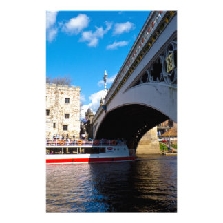 Lendal tower and bridge York Personalized Stationery