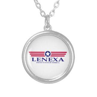 Lenexa Pride Round Pendant Necklace