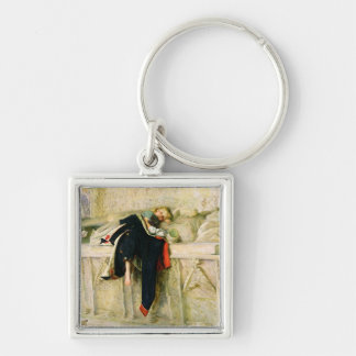 L'Enfant du Regiment (The Random Shot) 1855 (oil o Keychain