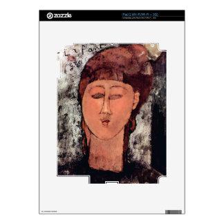 L'Enfant Gras by Amedeo Modigliani iPad 2 Decal