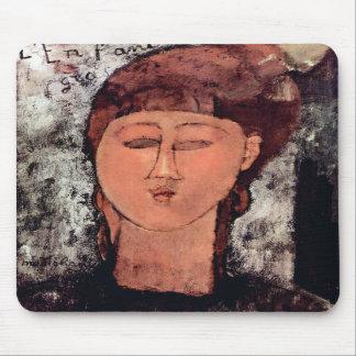 L'Enfant Gras by Amedeo Modigliani Mousepad