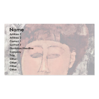 L'Enfant Grass By Modigliani Amedeo Double-Sided Standard Business Cards (Pack Of 100)