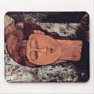 L'Enfant Grass By Modigliani Amedeo Mouse Pad