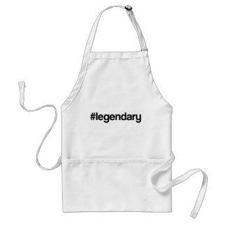 Lengendary Hashtag Adult Apron