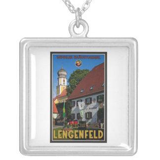 Lengenfeld - Winkler Bräu Square Pendant Necklace