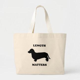 Length Matters Jumbo Tote Bag