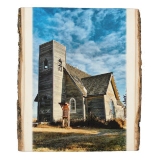 Lengthening Afternoon Shadows Photo Wood Panel