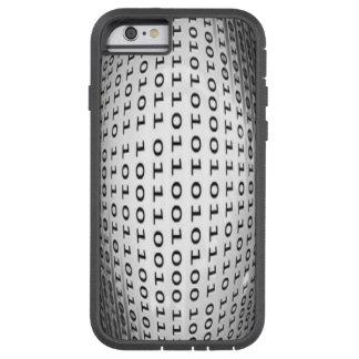 Lengua de código binario funda tough xtreme iPhone 6