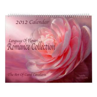 Lengua de flores - calendario romántico 2012