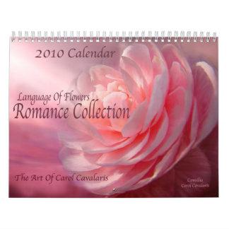 Lengua de flores - calendario romántico de la cole