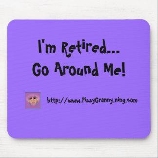 ¡Lengua de la abuelita me retiran… me circundo Alfombrillas De Ratones