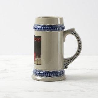 Lengua de la cerveza Stein del amor Jarra De Cerveza