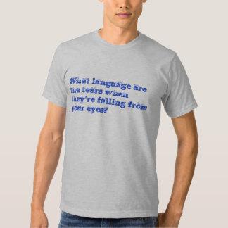 Lengua de la comprensión remeras