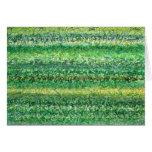 Lengua de la tarjeta de la hierba