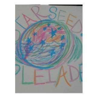 Lengua ligera de Pleiadian Starseed Tarjetas Postales