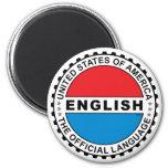 Lengua oficial de los E.E.U.U. Imán De Frigorífico