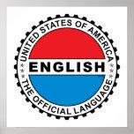 Lengua oficial de los E.E.U.U. Impresiones