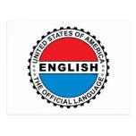 Lengua oficial de los E.E.U.U. Postal