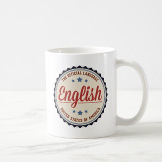 Lengua oficial de los E.E.U.U. Taza