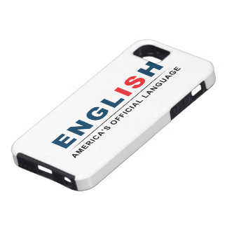 Lengua oficial funda para iPhone SE/5/5s
