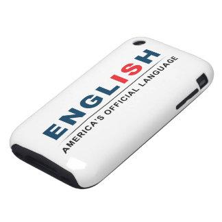 Lengua oficial funda though para iPhone 3