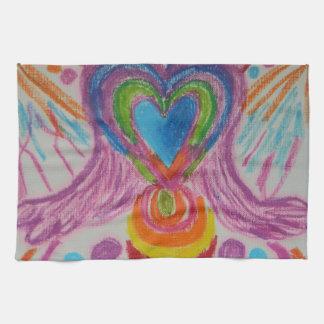 Lengua sagrada de la luz del corazón toalla