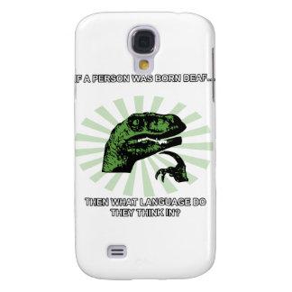 Lengua sorda de Philosoraptor Samsung Galaxy S4 Cover