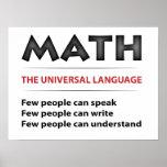 Lengua universal posters