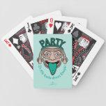 Lengua verde afortunada vieja de YE Baraja Cartas De Poker