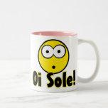 ¡Lenguado de Oi! Taza De Café