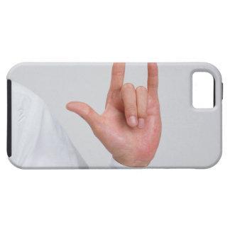 Lenguaje de signos 5 iPhone 5 carcasas