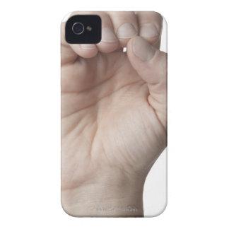 Lenguaje de signos americano 11 Case-Mate iPhone 4 coberturas