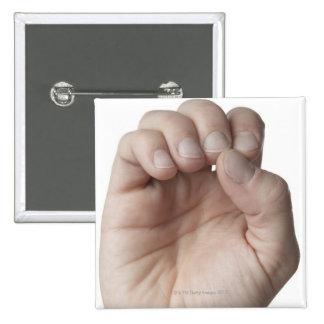 Lenguaje de signos americano 11 pin cuadrado