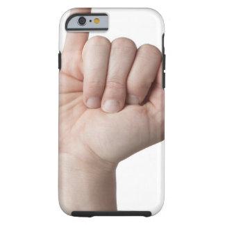 Lenguaje de signos americano 13 funda de iPhone 6 tough