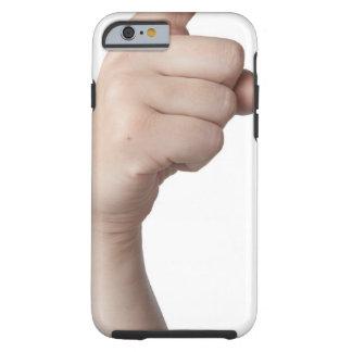 Lenguaje de signos americano 15 funda para iPhone 6 tough