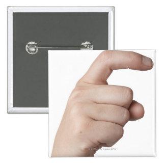 Lenguaje de signos americano 15 pin cuadrado