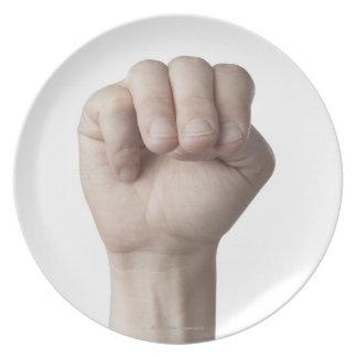 Lenguaje de signos americano 18 platos de comidas