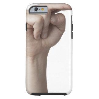 Lenguaje de signos americano 23 funda para iPhone 6 tough