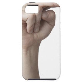 Lenguaje de signos americano 23 iPhone 5 funda