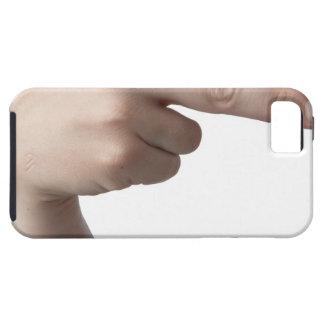 Lenguaje de signos americano 4 iPhone 5 carcasas