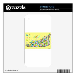 Lenguaje de signos americano para el BEBÉ Skins Para eliPhone 4S